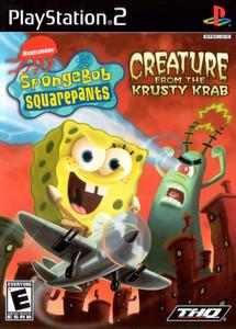 SpongeBob SquarePants Creature from Krusty Krab - PS2 Game