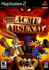 Looney Tunes ACME Arsenal - PS2 Game