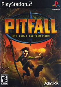Pitfall The Lost Expedition - PS2 Game