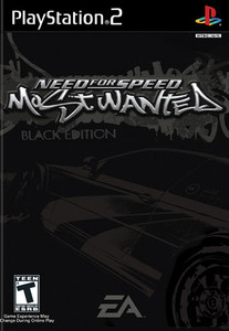 Need for Speed Most Wanted Black Edition - PS2 Game