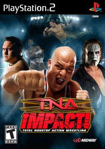TNA Impact - PS2 Game
