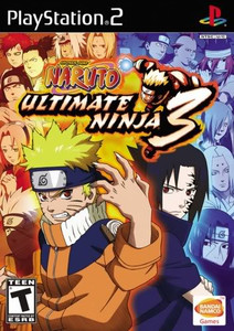 Naruto Ultimate Ninja 3 - PS2 Game