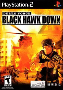 Delta Force Blach Hawk Down - PS2 Game