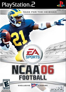 NCAA Football 06 - PS2 Game
