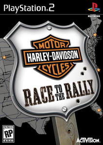 Harley Davidson Motorcycles Race to the Rally - PS2 Game