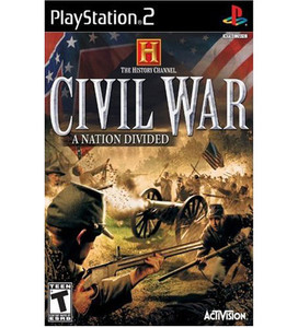 History Channel Civil War A Nation Divided - PS2 Game