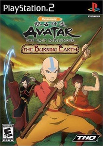 Avatar The Burning Earth - PS2 Game