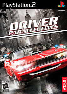 Driver Parallel Lines - PS2 Game