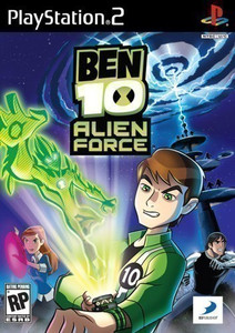 Ben 10 Alien Force - PS2 Game