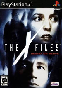 X-Files Resist or Serve - PS2 Game