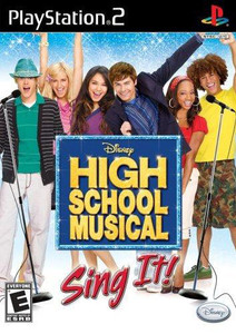 High School Musical Sing It - PS2 Game