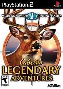 Cabela's Legendary Adventures  - PS2 Game