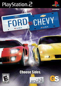 Ford vs. Chevy - PS2 Game