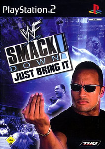 WWF Smackdown Just Bring It - PS2 Game