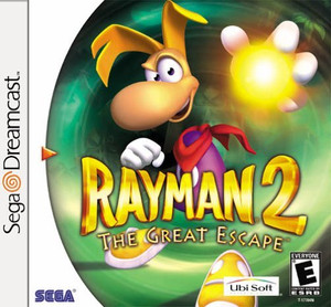 Rayman 2 The Great Escape - Dreamcast Game