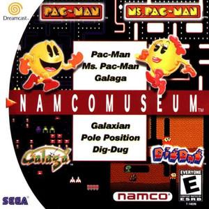 Namco Museum - Dreamcast Game