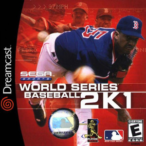 World Series Baseball 2k1 - Dreamcast Game