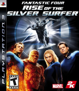 Fantastic 4 Rise of the Silver Surfer - PS3 Game