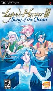 Legend of Heroes III Song of the Ocean - PSP Game