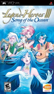 Legend of Heroes III Song of the Ocean - PSP Game