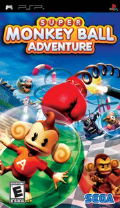 Super Monkey Ball Adventure - PSP Game