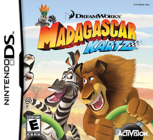Madagascar Kartz - DS Game