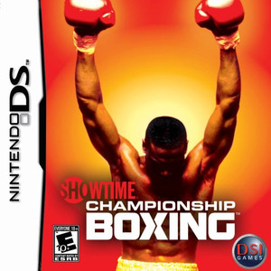 Showtime Championship Boxing - DS Game