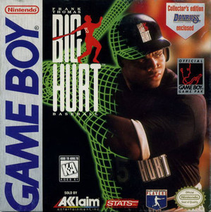 Frank Thomas Big Hurt Baseball - Game Boy Game