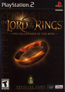 Lord of the Rings the Fellowship of the Ring - PS2 Game