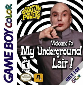 Austin Powers Welcome to my Underground Lair -  Game Boy Color Game