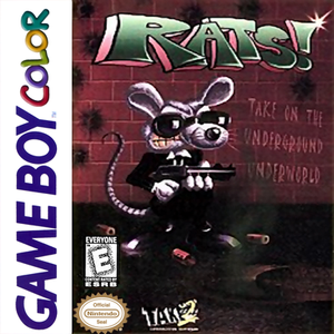 Rats! - Game Boy Color Game