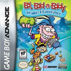 Ed Edd N Eddy Mis-Edventures - Game Boy Advance Game