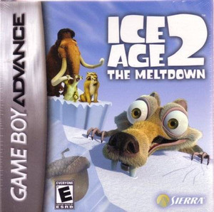 Ice Age 2 the Meltdown - Game Boy Advance Game