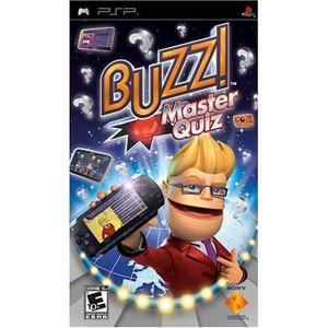 Buzz! Master Quiz - PSP Game