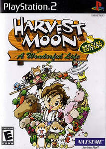 Harvest Moon: A Wonderful Life Special Edition - PS2 Game