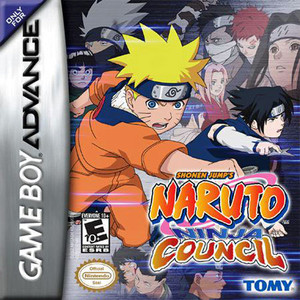 Naruto Ninja Council - Game Boy Advance Game