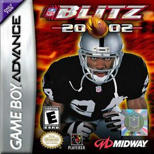 NFL Blitz 2002 - Game Boy Advance Game