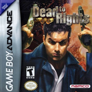 Dead to Rights - Game Boy Advance Game