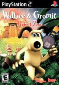 Wallace and Gromit Project Zoo - PS2 game