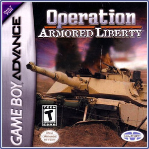 Operation Armored Liberty - Game Boy Advance Game