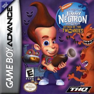 Jimmy Neutron Attack of the Twonkies - Game Boy Advance Game