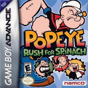 Popeye Rush for Spinach - Game Boy Advance Game