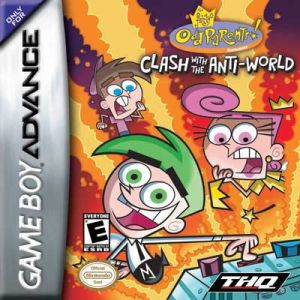 Fairly Odd Parents Clash with the Anti-World - Game Boy Advance Game