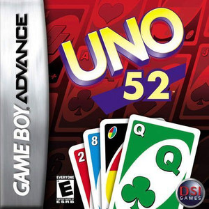 Uno 52 - Game Boy Advance Game