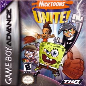 Nicktoons Unite! - Game Boy Advance Game