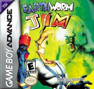 Earthworm Jim - Game Boy Advance Game