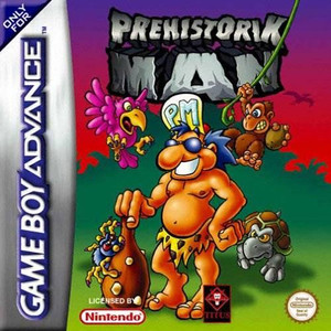Prehistorik Man - Game Boy Advance Game