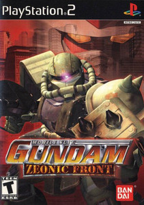 Mobile Suit Gundam Zeonic Front - PS2 game