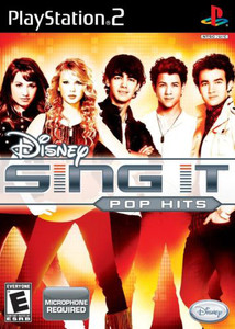 Disney Sing It Pop Hits - PS2 Game
