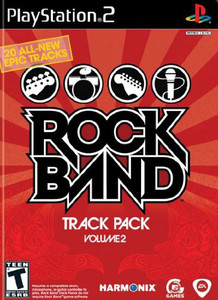 Rock Band Track Pack Volume 2 - PS2 Game
